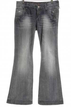 Rock Revival Jeans taille basse bleuet Application de logo