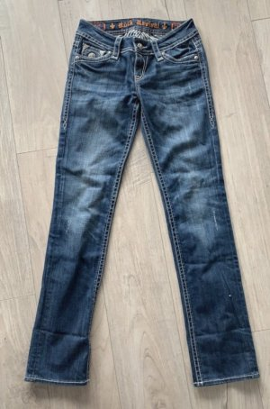 Rock Revival Jeans Tori Straight in Größe 28