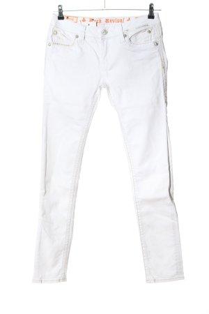 Rock Revival Slim Jeans weiß Casual-Look