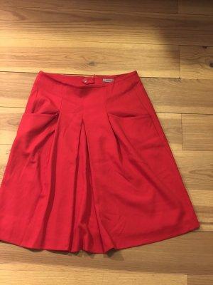 Riani Midi Skirt dark red