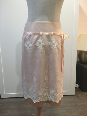 Lace Skirt natural white-pink