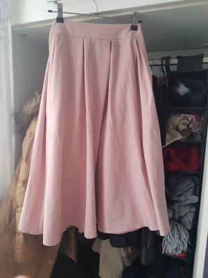 Ohne Jupe à plis gris anthracite-rosé