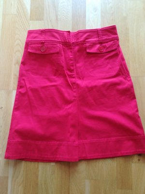 H&M Tulip Skirt red