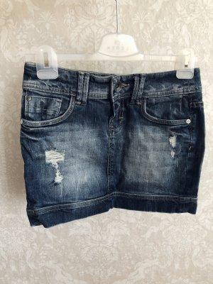 Rock s.Oliver Denim blau Jeans Minirock