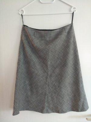 s.Oliver Jupe en tweed gris clair