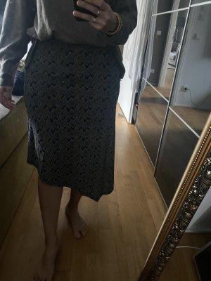 Zara Asymetryczna spódniczka Wielokolorowy