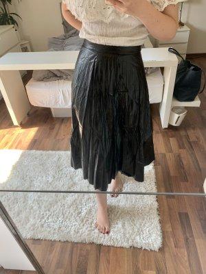 SheIn Plisowana spódnica czarny