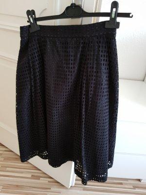 H&M Asymetryczna spódniczka czarny