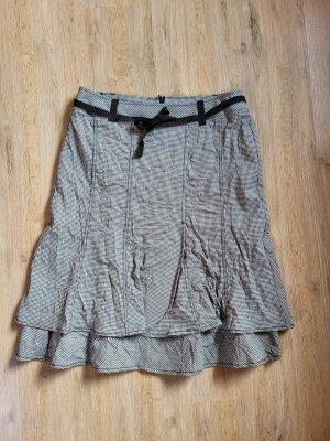 Biba Broomstick Skirt black-white