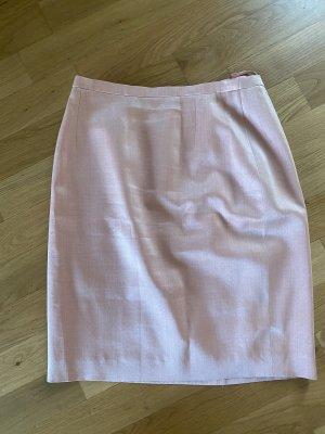 Louis Feraud High Waist Skirt pink-salmon silk
