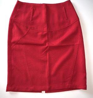 3suisses Spódnica z wysokim stanem czerwony