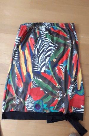 Smash Midi Skirt multicolored polyester