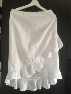 3 Suisses Asymmetry Skirt white