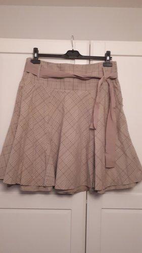 Street One Flared Skirt beige