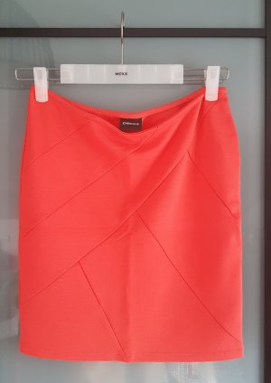 Pieces Stretch rok rood