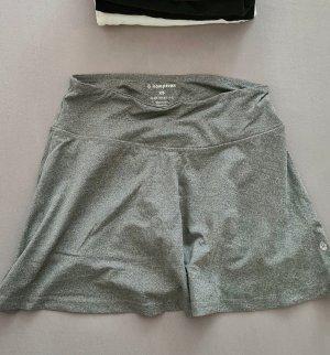 Komprexx Falda pantalón color plata