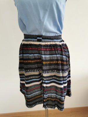 Tom Tailor Plaid Skirt light blue-blue
