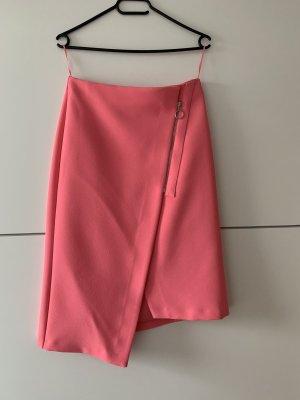 Topshop Asymmetry Skirt pink