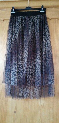 New Collection italy Tiulowa spódnica Wielokolorowy