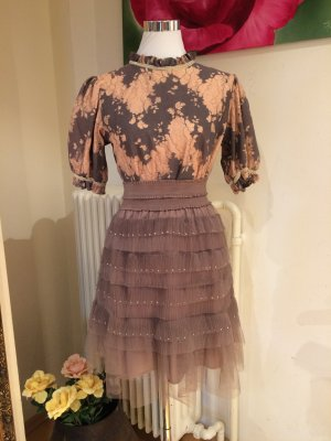 Tulle Skirt grey brown