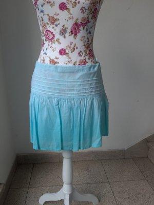Miniskirt light blue