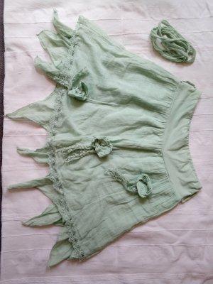 Asymmetry Skirt turquoise