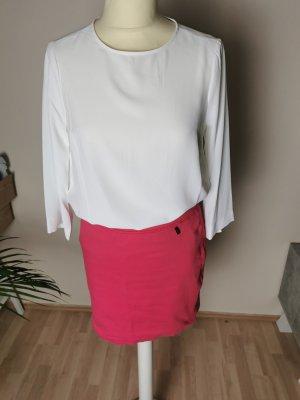 marccain sport Spódnica ze stretchu różowy-magenta
