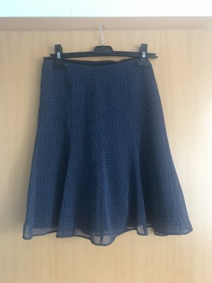 123 Paris Spódnica midi szary niebieski