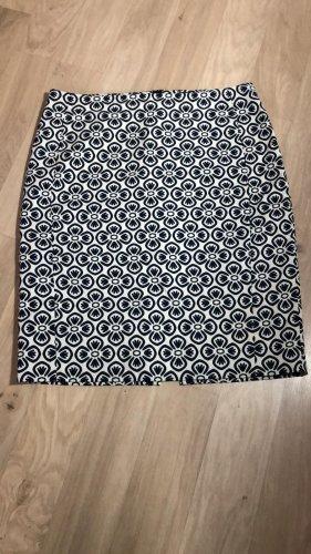 1.2.3 Paris Jupe mi-longue blanc-noir