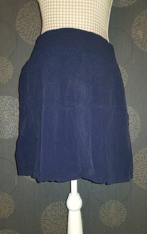 About You Kanten rok donkerblauw