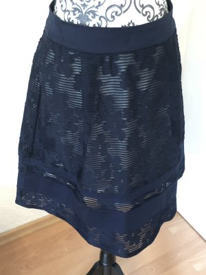 About You Lace Skirt dark blue