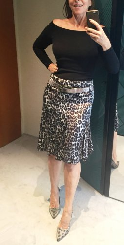 Airfield Flared Skirt multicolored