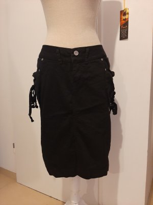Amisu Midi Skirt black