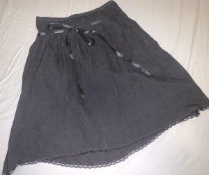 Anastacia by s.Oliver Midi Skirt anthracite-black
