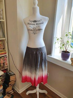 Marc Aurel Silk Skirt multicolored silk