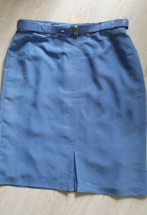 Bianca Spódnica maxi stalowy niebieski-niebieski