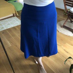 Biba Jupe en soie bleu