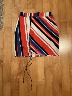 Boohoo Miniskirt multicolored