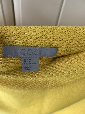 COS Falda de tubo amarillo-amarillo limón