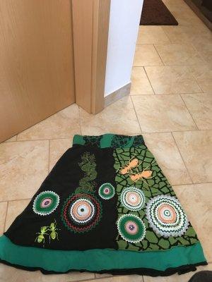 Desigual Falda acampanada multicolor Algodón