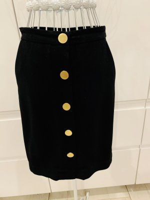 Diane von Furstenberg Wool Skirt black