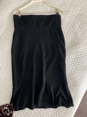 Dolce & Gabbana Flounce Skirt black