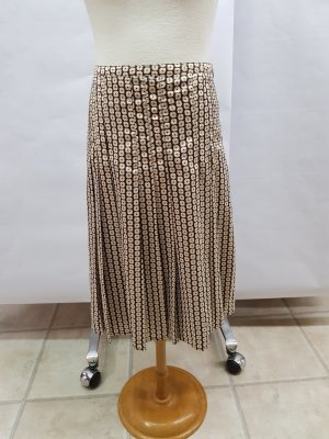 Rock von Esprit Braun mit Muster gr. 34 Damen gebraucht