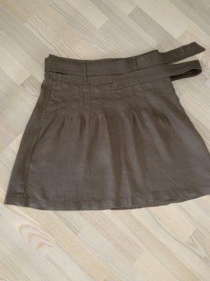 Esprit Linen Skirt camel-beige