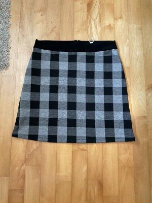 Esprit Stretch Skirt black-white polyester
