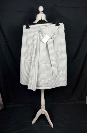 Fabiana Filippi Wraparound Skirt natural white-oatmeal