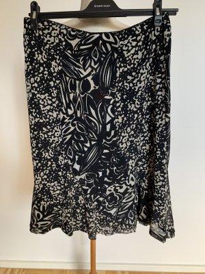 Gerry Weber Midi Skirt black-white