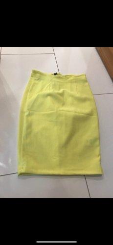 Rock von Gina tricot neon gelb xs