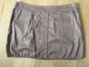 Gucci Mini-jupe marron clair coton