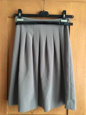 H&M Plaid Skirt grey